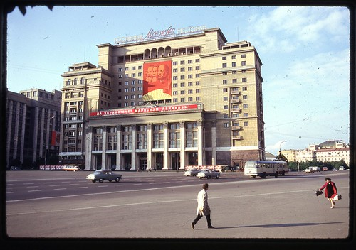 Hotel Moscow again, 1969