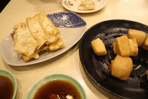 [台湾2.5] 豆腐と餃子