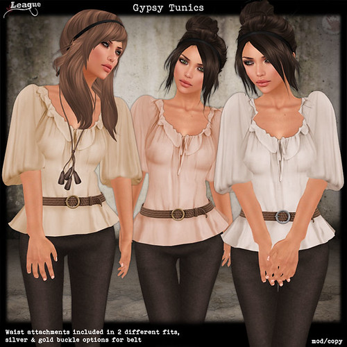 *League* Gypsy Tunics