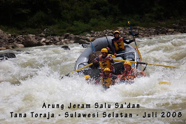 Arung Jeram Salu Sa'dan