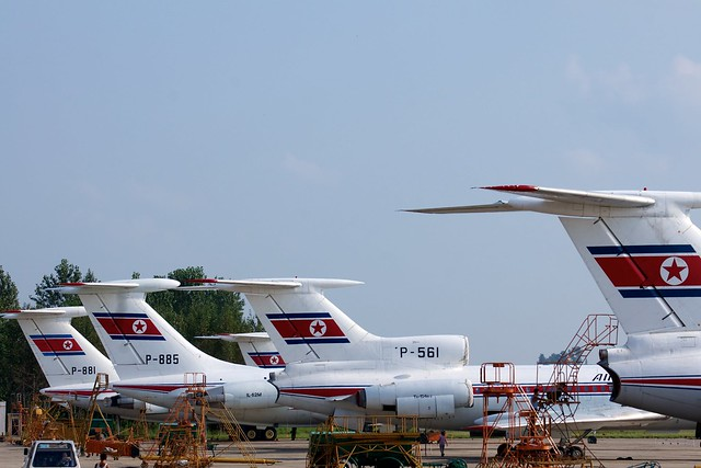 Air Koryo Fleet of Jets