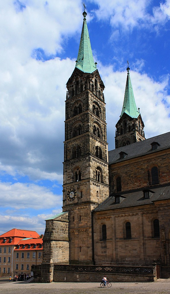 Domplatz (Cathedral Square), Bamberg, Germany