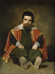 The Buffoon Sebastian de Morra, 1646, by Velázquez