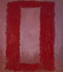 "Red on Maroon, Mural Section 4, 1959, from ""The Seagram Murals,"" by Mark Rothko"
