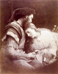 The Parting of Sir Lancelot and Queen Guinevere, 1874, by Julia Margaret Cameron