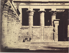 Temple of Edfu, Egypt, 1867, by Gustave Le Gray