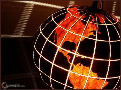 Standing Lamp XIV Globe II - night 10
