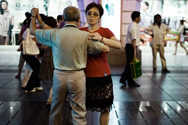 Step up - Nanjing Lu, Shanghai.