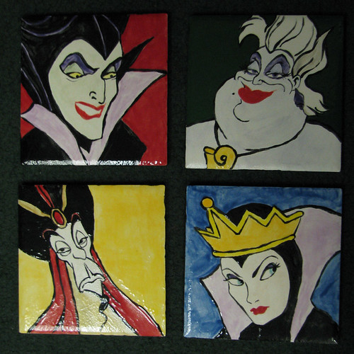 My Favorite Villians - Coaster Set