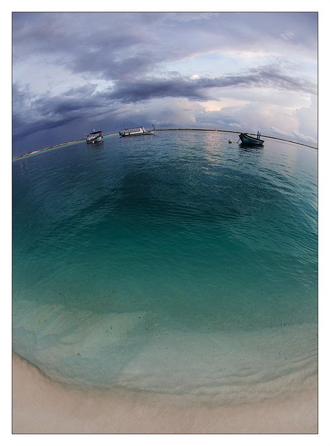 Globe of Maldives