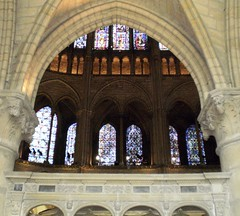 St Remi Basilica, Reims, France