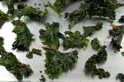 Miso Kale Chips