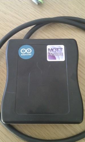 First sticker deployed