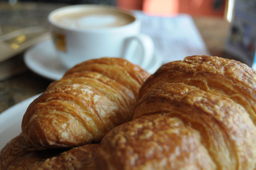 croissants, cafes in chester