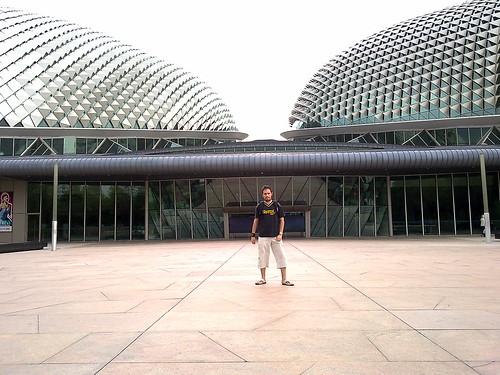 Mirador gratis, situado en Esplanade Theatres on the Bay, en Singapur