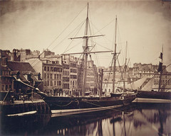The Imperial Yacht La Reine Hortense, Le Havre, 1856, by Gustave Le Gray