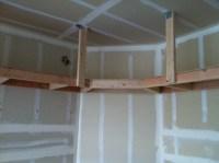 Suspended Garage Shelf | Flickr - Photo Sharing!