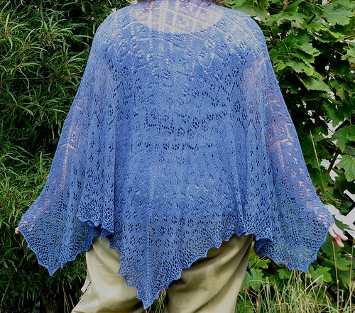 2830 Summer Rain shawl