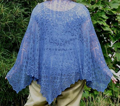 2830 Summer Rain shawl