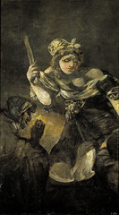 Judith and Holofernes, from 'The Black Paintings,' 1821-23, by Francisco de Goya
