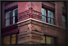 Chicago IL ~ Rookery Building  ~ Street Names/Terra Cotta
