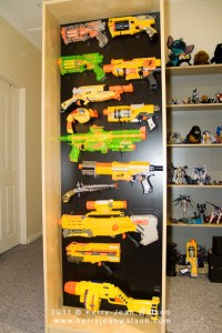 Nerf Gun Rack | Flickr - Photo Sharing!