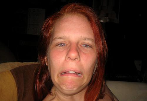 20110730 - Carolyn - can't make a sad face - 1 - IMG_3412