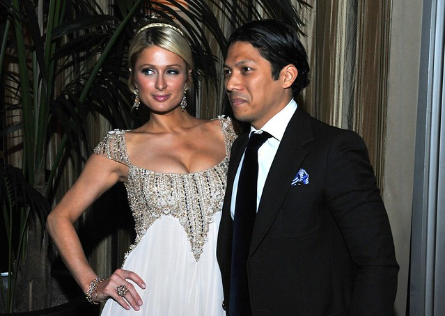 Paris Hilton and Robbie Antonio of Century Properties