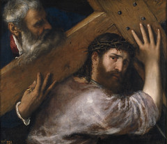 Christ and the Cyrenian, 1547, by Titian