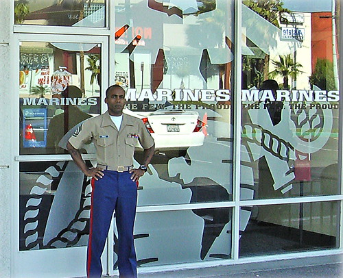 USMC recruiting window