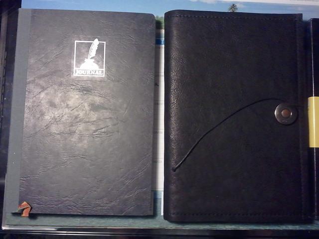 Comparison to Exacompta Journal