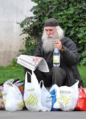 Upper Class Homeless
