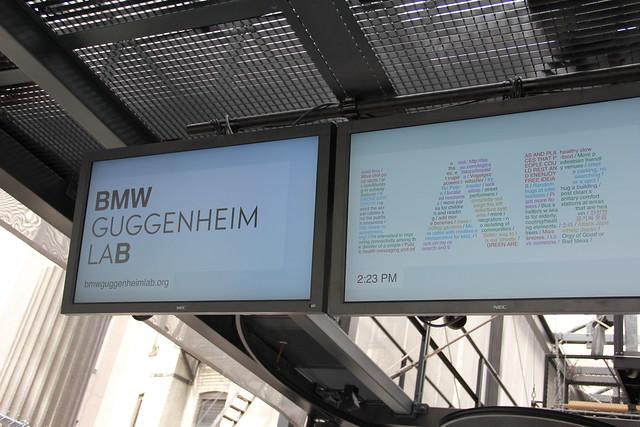 BMW guggenheimu Lab にjoin