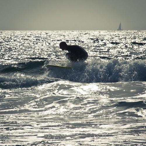 The Silver Surfer (Playa de Las Americas, Tenerife, Canaries) - Photo : Gilderic