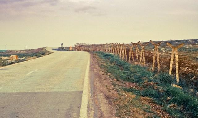 The Syrian-Turkish border