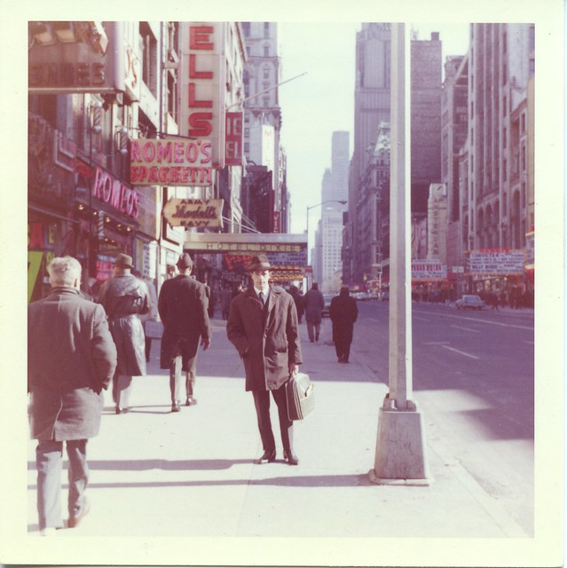 Feb. 2, 1963 New York, 42 Street a