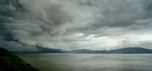 Storm over Chapala Lake