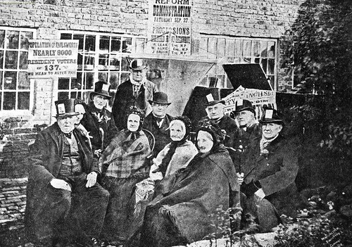 Peterloo veterans, 1884