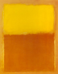 Orange and Yellow, 1956, by Mark Rothko