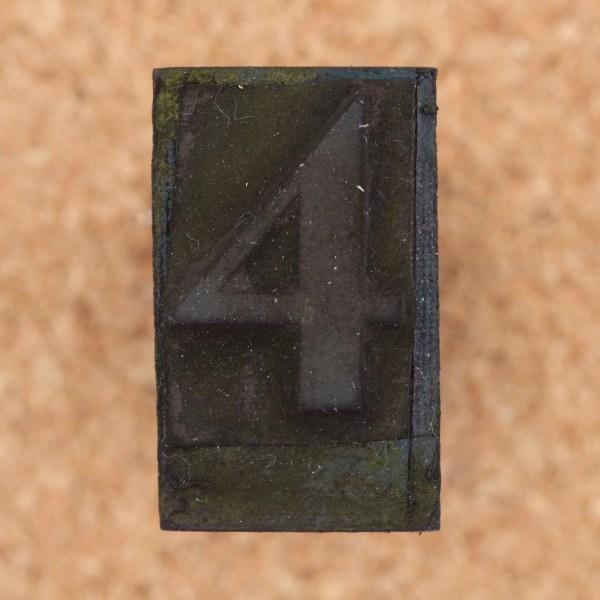 Rubber Stamp Number 4 - Sharing