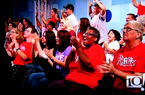 Us in the audience!