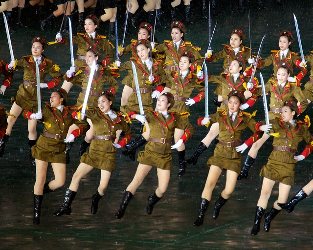 Mass Game Sexy Soldiers - North Korea