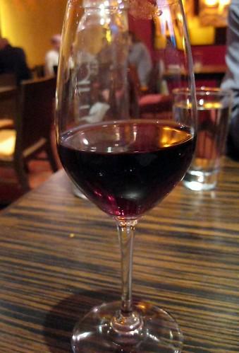 Glass of Pinot Noir