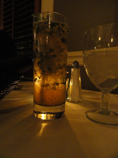 Mint Julep at Veranda