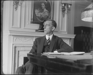 Prince William of Sweden in Boston 1927