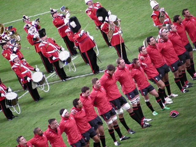 Wales v England RWC Warmup game