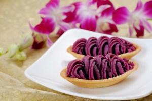 紅芋たると_Red sweet poteto tart