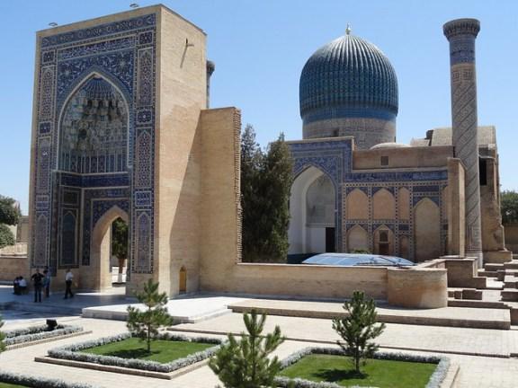 RTW itinerary, Samarkand