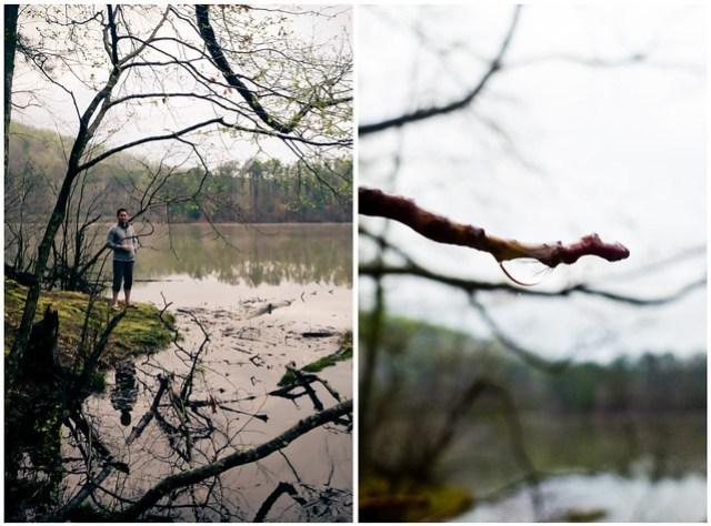 walk by lake