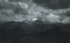 Gewitterabend in den Dolomiten, 1897, by Hauptmann Luty